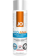 Jo H2o Anal Water Based Warming Lubricant 4oz